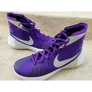 NIKE 2015 Hyperdunk Men Basketball Shoes Purple